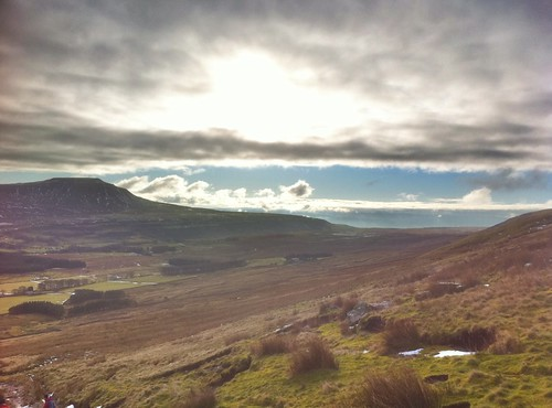 Hazy Ingleborough