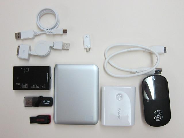 Geek Bag Contents