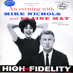 May AND Nichols (epiclectic) Tags: music art vintage comedy mercury album duo pair vinyl may retro collection jacket cover lp record elaine sleeve spokenword 1961 highfidelity ampersand mikenichols noband epiclectic