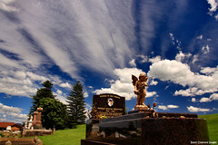 Gerringong Cemetery, South Coast NSW  12.12.2010 (Black Diamond Images) Tags: sky cemetery clouds australia graves nsw southcoast gerringong gerringongcemetery