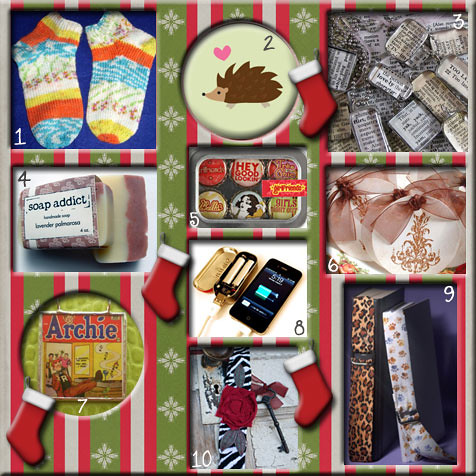 funky gift guide: stocking stuffers