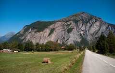 Alp VII (junlal) Tags: mountain france mountains alps berg landscape nikon bluesky frankrijk bergen alpen lucht alp landschap d90