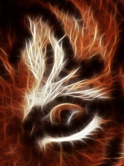 (ssj_george) Tags: uk england detail london eye animal closeup cat photoshop mammal lumix zoo stripes tiger panasonic dmc cs3 tz3 fractalius georgestavrinos ssjgeorge
