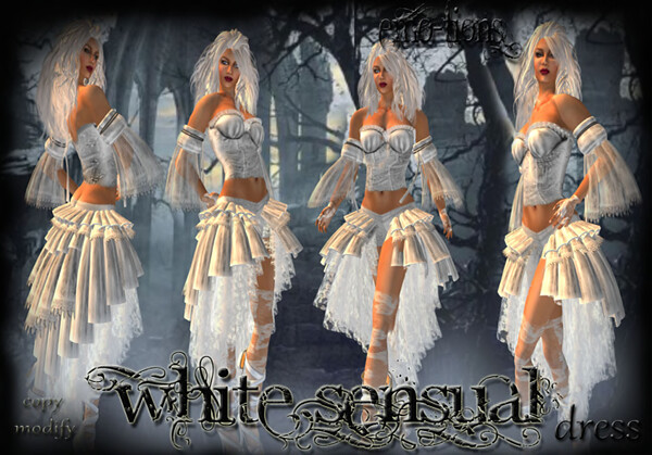 WHITESENSUALdress