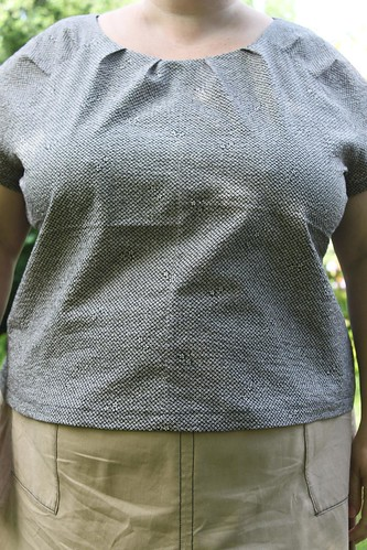 Simplicity 2372 blouse