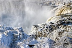 Frozen Falls (Guylaine Begin) Tags: autumn winter snow canada cold ice nature automne river landscape energy dam hiver rivire waterfalls gorge neige 5000 paysage cascade 162 froid chute barrage hdr 250 madawaska gettyimages glace fleuve 285 chutedeau stjohnriver grandfalls nergie 5546 hdrtonemapped grandsault fleuvesaintjean grandfallsgorge gorgedegrandsault newbrundwick thefallsandgorge leschutesetlagorge nouveaubrunewick