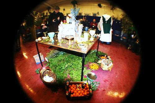 Altar at Druid Ceremony