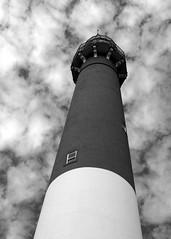 B&W lighthouse (nayr) Tags: bw lighthouse nj picasa olympus lbi shore zuiko e30 43rds