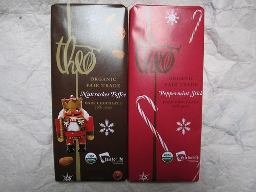 Theo Nutcracker Toffee and Peppermint Stick