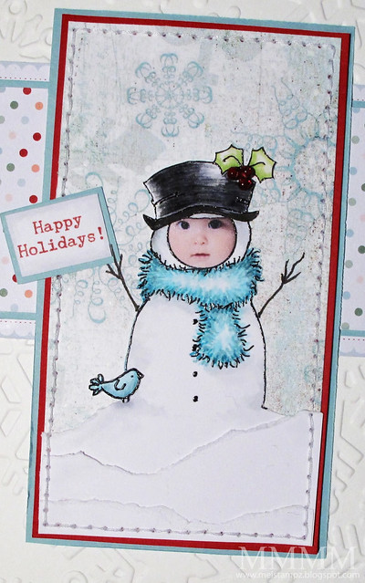 baby hayden as a snowman 2010