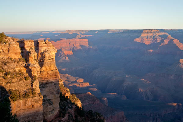 Grand Canyon Sunrise 8:29 AM