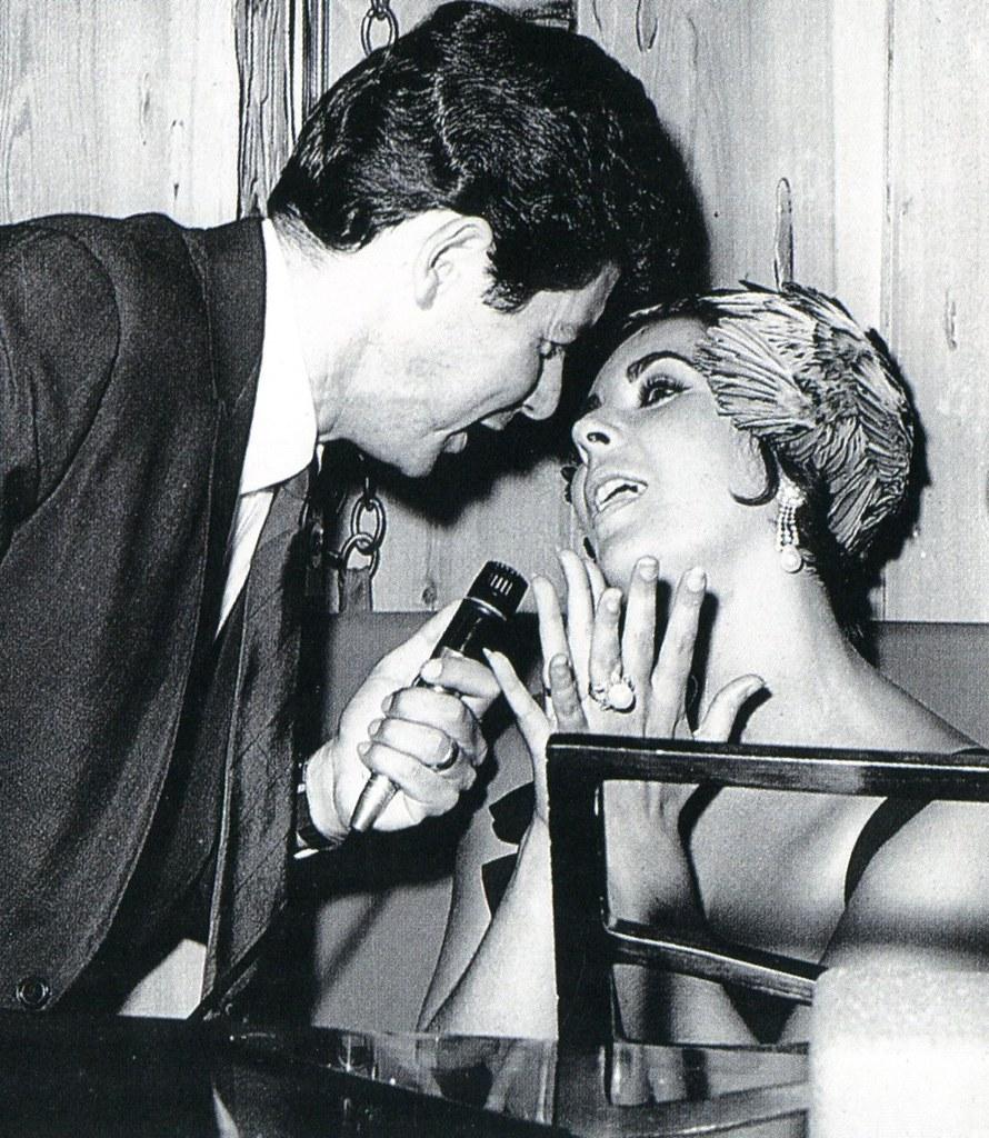 Eddie Fischer and Elizabeth Taylor