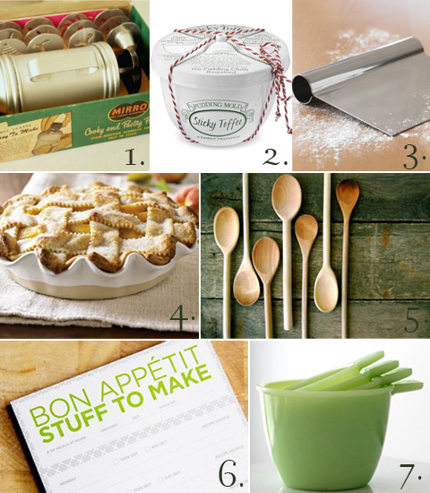 Christmas Gift Guide for a Baker Chef