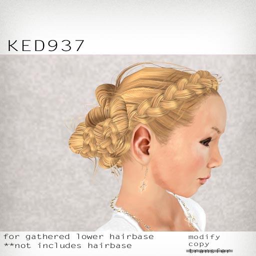 booN KED937 hair