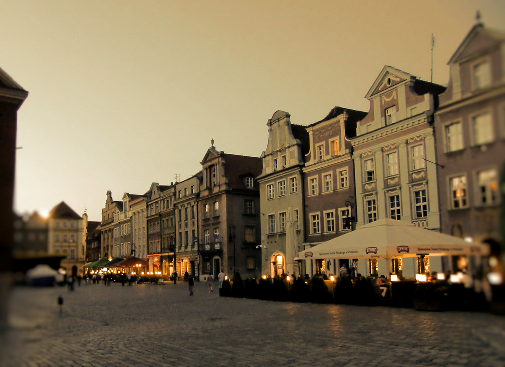 Stary Rynek (The Old Market) - Night