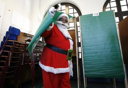 Santa Voting