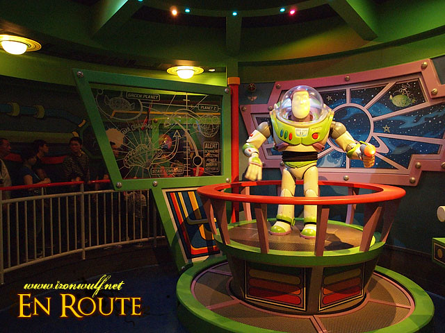 Amazing Lifesize Robotics on Buzz Lightyear