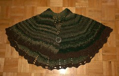 Woodland Rustic Shawl - Complete