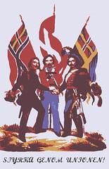Strength Through Union! (Napoleon (Vengeful Potentate)) Tags: norway denmark sweden union swedish norwegian communist communism danish socialist scandinavia socialism scandinavian