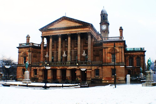 Clark Town Hall in Winter