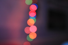 Lightss. (SarahHeyyyo) Tags: christmas lights multicolor