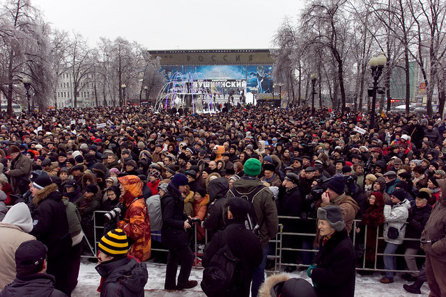 "Meeting against Nazism ""Moscow for everyone"" in Moscow, 26Dec2010"