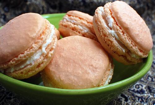 Orange & Fennel Macaron