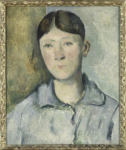 Portrait de Madame Cézanne, Paul Cézanne, 1885-1890