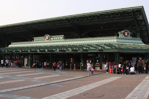 Entry to Disneyland station
