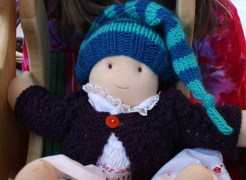 Doll Sweater and Hat for Sally