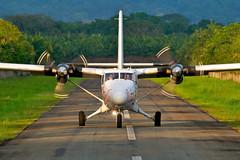 TI-AYQ (wittowio) Tags: airplane aviation spotting quepos twinotter natureair