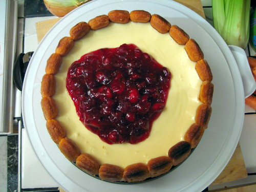 Cranberry Crown Cheesecake