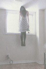 hangin' so clumsy... (clairedim) Tags: blue light baby black window rose by dress breath elle inspired levitation haunting eleanor lissy hardwick nylons superpipo2010 floatingmidair