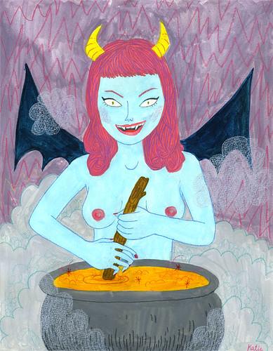 super evil girl