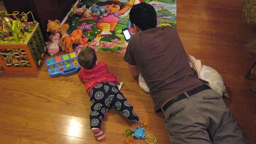 Father/daughter bonding