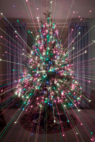Christmas Tree LIght Explosion