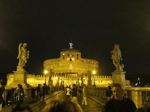 圣天使城堡夜景