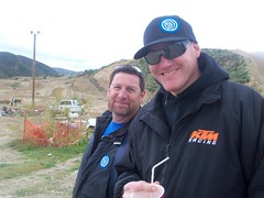 Shane and Martin at GH GP