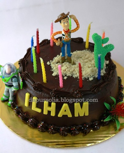 Ilham Jati Kusumo's 12th Birthday Cake