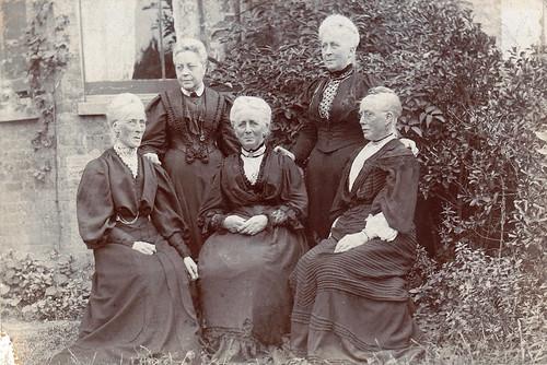 Old ladies. Westgate-on-Sea, Kent.