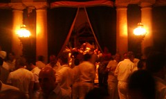 The White Party VIP Area Vizcaya Museum and Gardens