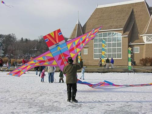 Winter Kite Festival 2006 Mr. Kite