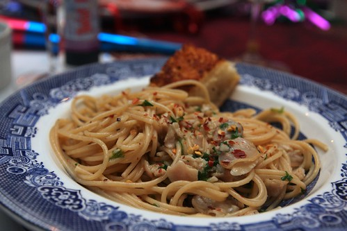 linguine & clams!