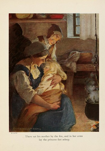 030-The princess and the goblin 1920-ilustrado por Jessie Willcox Smith