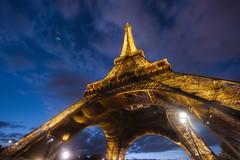The Eiffel From Beneath