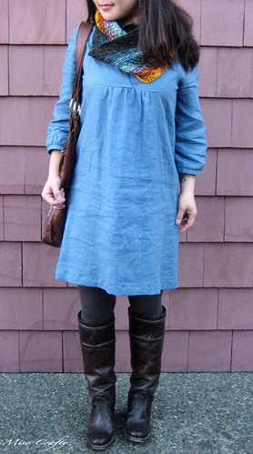 Blue Tova Dress