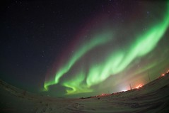 Close Encounters of the Aurora Kind 05 (savillent) Tags: sky snow canada storm weather night dark stars landscape lights amazing space aurora northern borealis geomagnetic tuktoyaktuk anawesomeshot top20aurora