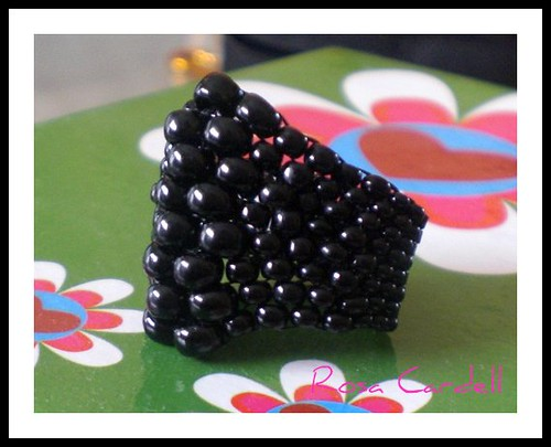 Anillo Bubble Negro