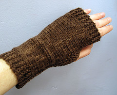 Knitting 101 Fingerless Glove Project