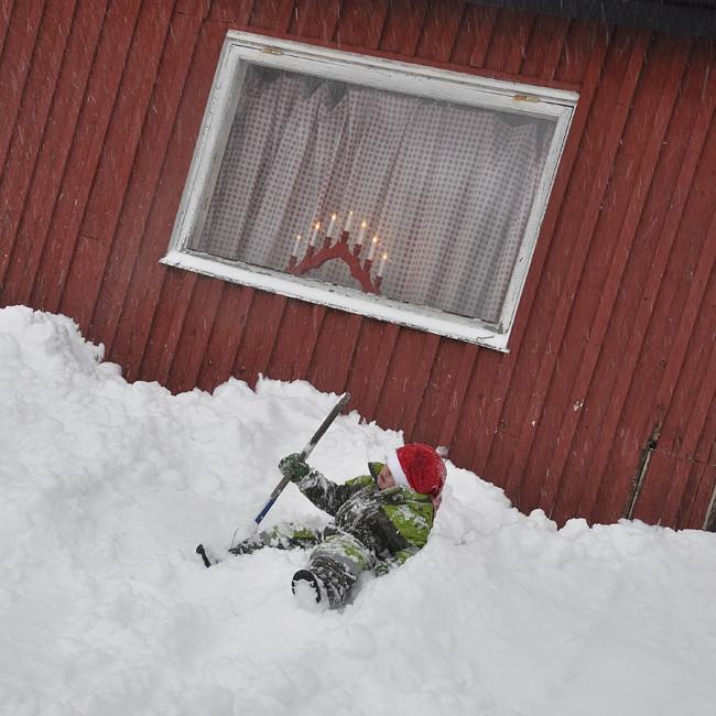 sommarhuset i vintertider